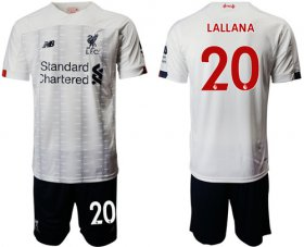 Wholesale Cheap Liverpool #20 Lallana Away Soccer Club Jersey
