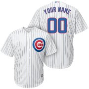 Wholesale Cheap Chicago Cubs Majestic Cool Base Custom Jersey White