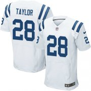 Wholesale Cheap Nike Colts #28 Jonathan Taylor White Men's Stitched NFL New Elite Jersey