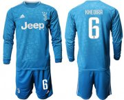 Wholesale Cheap Juventus #6 Khedira Third Long Sleeves Soccer Club Jersey