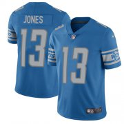 Wholesale Cheap Nike Lions #13 T.J. Jones Light Blue Team Color Youth Stitched NFL Vapor Untouchable Limited Jersey