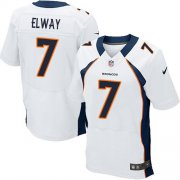 Wholesale Cheap Nike Broncos #7 John Elway White Men's Stitched NFL Elite Jersey