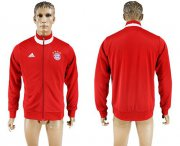 Wholesale Cheap Bayern Munchen Soccer Jackets Red