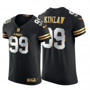 Wholesale Cheap San Francisco 49ers #99 Javon Kinlaw Men's Nike Black Edition Vapor Untouchable Elite NFL Jersey
