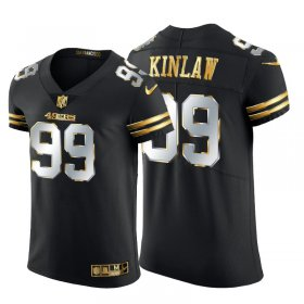 Wholesale Cheap San Francisco 49ers #99 Javon Kinlaw Men\'s Nike Black Edition Vapor Untouchable Elite NFL Jersey