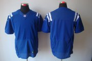 Wholesale Cheap Nike Colts Blank Royal Blue Team Color Men's Stitched NFL Elite Jersey