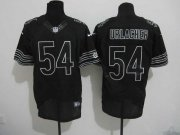 Wholesale Cheap Nike Bears #54 Brian Urlacher Black Shadow Men's Stitched NFL Elite Jersey