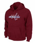 Wholesale Cheap NHL Washington Capitals Big & Tall Logo Pullover Hoodie Red