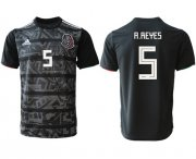 Wholesale Cheap Mexico #5 A.Reyes Black Soccer Country Jersey