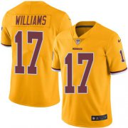 Wholesale Cheap Nike Redskins #17 Doug Williams Gold Men's Stitched NFL Limited Rush Jersey