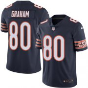 Wholesale Cheap Nike Bears #80 Jimmy Graham Navy Blue Team Color Men's Stitched NFL Vapor Untouchable Limited Jersey
