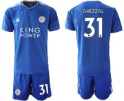 Wholesale Cheap Leicester City #31 Ghezzal Home Soccer Club Jersey