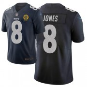 Wholesale Cheap Nike Giants #8 Daniel Jones Navy Men's Stitched NFL Limited City Edition Jersey