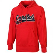 Wholesale Cheap Old Time Hockey Washington Capitals Hudson Pullover Hoodie Red