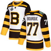 Wholesale Cheap Adidas Bruins #77 Ray Bourque White Authentic 2019 Winter Classic Stanley Cup Final Bound Stitched NHL Jersey