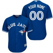 Wholesale Cheap Toronto Blue Jays Majestic Cool Base Custom Jersey Royal