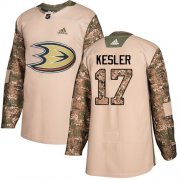 Wholesale Cheap Adidas Ducks #17 Ryan Kesler Camo Authentic 2017 Veterans Day Youth Stitched NHL Jersey