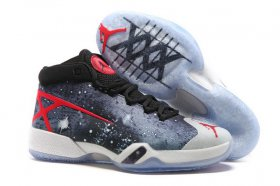 Wholesale Cheap Air Jordan 30 JBC PEs Go Galactic Shoes Galaxy grey/Red-Black-White