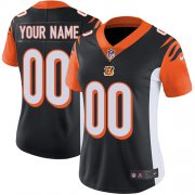 Wholesale Cheap Nike Cincinnati Bengals Customized Black Team Color Stitched Vapor Untouchable Limited Women's NFL Jersey