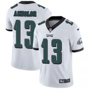 Wholesale Cheap Nike Eagles #13 Nelson Agholor White Men's Stitched NFL Vapor Untouchable Limited Jersey