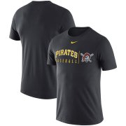 Wholesale Cheap Pittsburgh Pirates Nike MLB Practice T-Shirt Anthracite