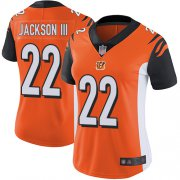Wholesale Cheap Nike Bengals #22 William Jackson III Orange Alternate Women's Stitched NFL Vapor Untouchable Limited Jersey