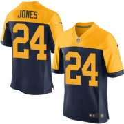 Wholesale Cheap Nike Packers #24 Josh Jones Navy Blue Alternate Men's Stitched NFL New Elite Jersey