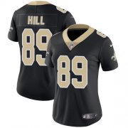 Wholesale Cheap Nike Saints #89 Josh Hill Black Team Color Women's Stitched NFL Vapor Untouchable Limited Jersey