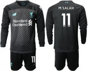 Wholesale Cheap Liverpool #11 M.Salah Third Long Sleeves Soccer Club Jersey