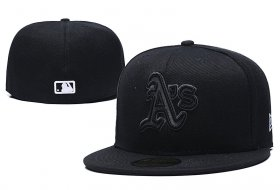Wholesale Cheap Oakland Athletics fitted hats 02