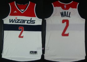 Wholesale Cheap Washington Wizards #2 John Wall Revolution 30 Swingman 2014 New White Jersey