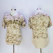 Wholesale Pirates Blank Camo Flexbase Authentic Collection Stitched Baseball Jersey