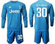 Wholesale Cheap Juventus #30 Bentancur Third Long Sleeves Soccer Club Jersey