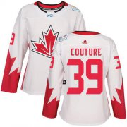 Wholesale Cheap Team Canada #39 Logan Couture White 2016 World Cup Women's Stitched NHL Jersey