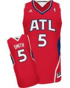 Wholesale Cheap Atlanta Hawks #5 Josh Smith Red Swingman Jersey