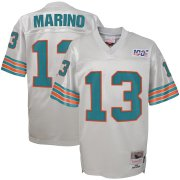 Wholesale Cheap Youth Miami Dolphins #13 Dan Marino Mitchell & Ness Platinum NFL 100 Retired Player Legacy Jersey