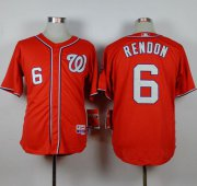 Wholesale Cheap Nationals #6 Anthony Rendon Red Cool Base Stitched MLB Jersey