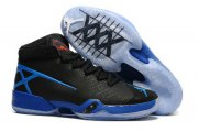 Wholesale Cheap Air Jordan 30 XXX Shoes Black/True Blue