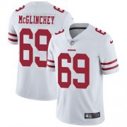 Wholesale Cheap Nike 49ers #69 Mike McGlinchey White Men's Stitched NFL Vapor Untouchable Limited Jersey