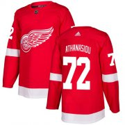 Wholesale Cheap Adidas Red Wings #72 Andreas Athanasiou Red Home Authentic Stitched Youth NHL Jersey