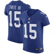 Wholesale Cheap Nike Giants #15 Golden Tate Royal Blue Team Color Men's Stitched NFL Vapor Untouchable Elite Jersey