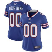 Wholesale Cheap Nike Buffalo Bills Customized Royal Blue Team Color Stitched Vapor Untouchable Limited Women's NFL Jersey