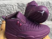 Wholesale Cheap Air Jordan 12 Retro Shoes Purple/White