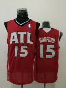 Wholesale Cheap Men's Atlanta Hawks #15 Al Horford Red Swingman Jersey