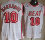 Wholesale Cheap Miami Heat #10 Tim Hardaway White Swingman Throwback Jersey