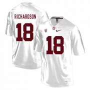 Wholesale Cheap Stanford Cardinal 18 Jack Richardson White College Football Jersey