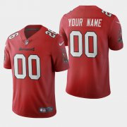 Wholesale Cheap Tampa Bay Buccaneers Custom Red Men's Nike 2020 Vapor Limited NFL Jersey
