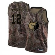 Cheap Youth Grizzlies #12 Ja Morant Camo Basketball Swingman Realtree Collection Jersey