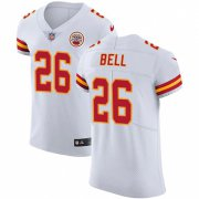 Wholesale Cheap Nike Chiefs #26 Le'Veon Bell White Men's Stitched NFL New Elite Jersey