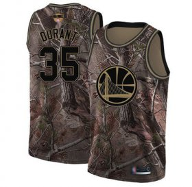 Wholesale Cheap Warriors #35 Kevin Durant Camo 2019 Finals Bound Basketball Swingman Realtree Collection Jersey